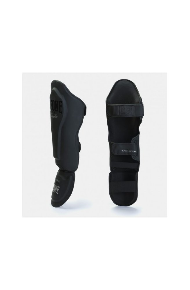 Защита голени Leone Mono Black S/M