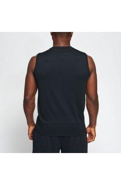 Футболка Leone Logo Sleeveless Black M