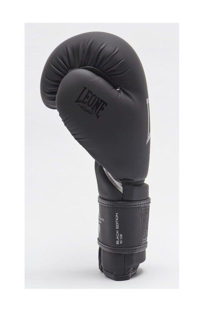 Боксерские перчатки Leone Mono Black