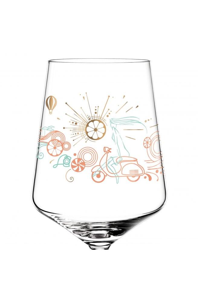 """Бокал для игристых напитков """"Aperizzo"""" от Натальи Яблуновской, 544 мл - wos8724"""