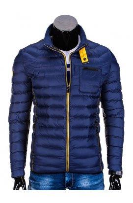 Куртка мужская демисезонная стеганая K292 - Синий