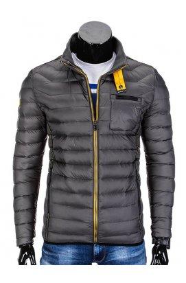 Куртка мужская демисезонная стеганая K292 - Серый