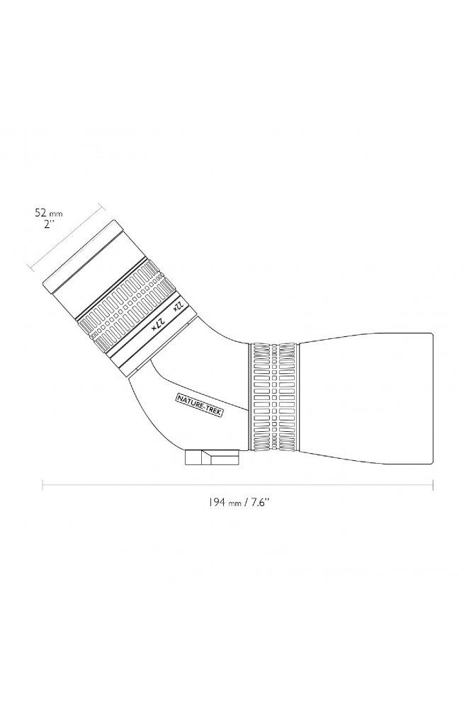 Подзорная труба Hawke Nature Trek 9-27x56/45 WP (55210)