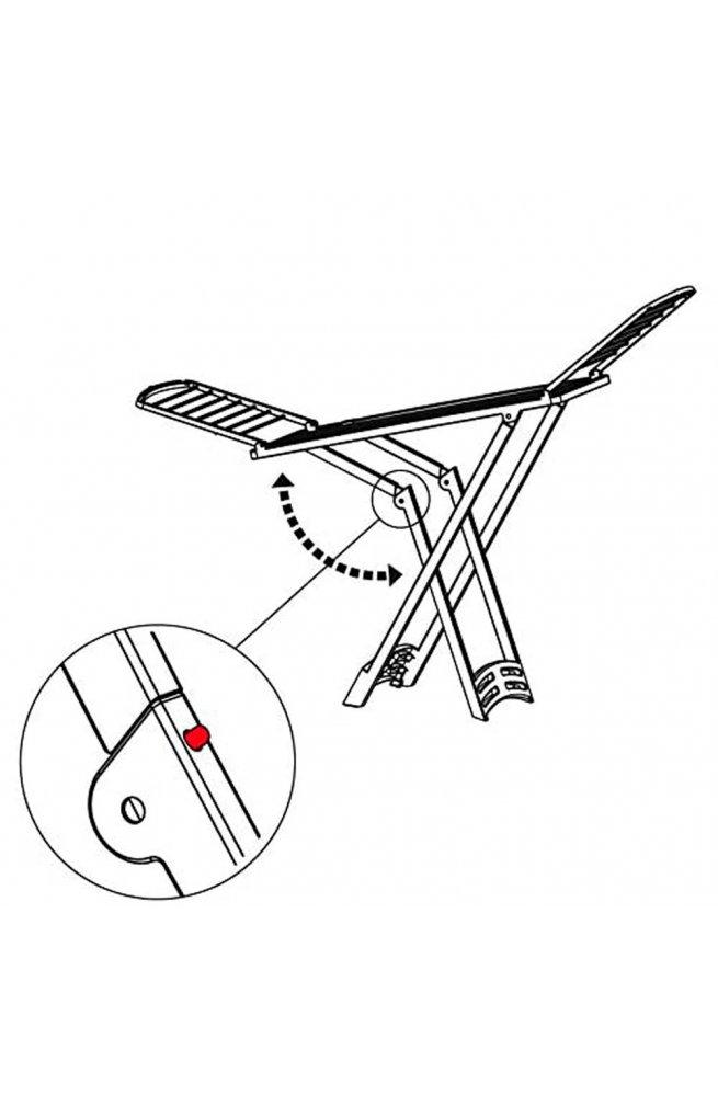 Сушилка для белья напольная Gimi Zaffiro 20 м