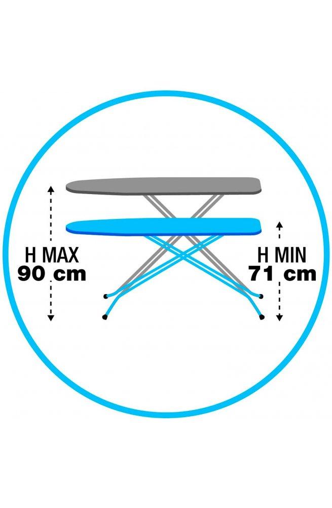Доска гладильная Gimi Junior 114x33 см Lavanda