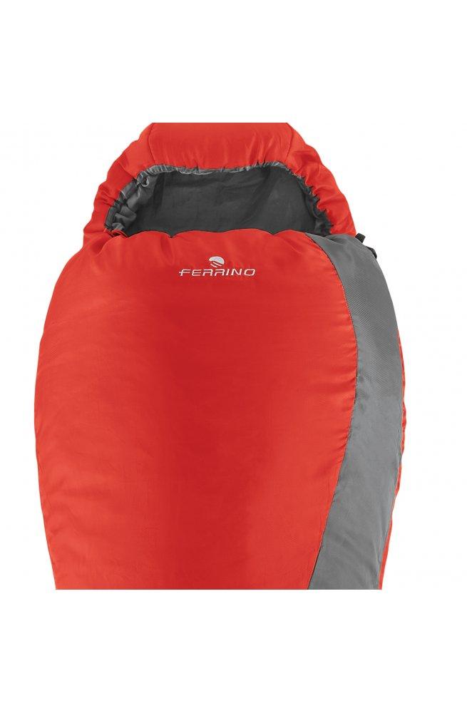Спальный мешок Ferrino Yukon Pro/+0°C Scarlet Red/Grey (Left)