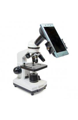 Микроскоп Optima Explorer 40x-400x + смартфон-адаптер (MB-Exp 01-202A-Smart)
