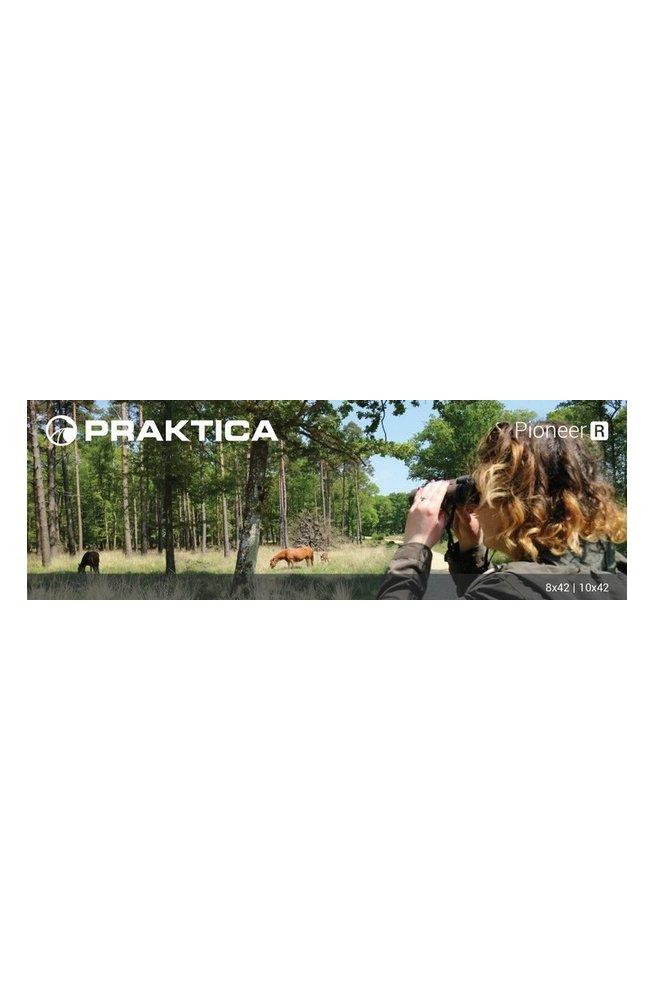 Бинокль Praktica Pioneer R 10x42 WP Umber