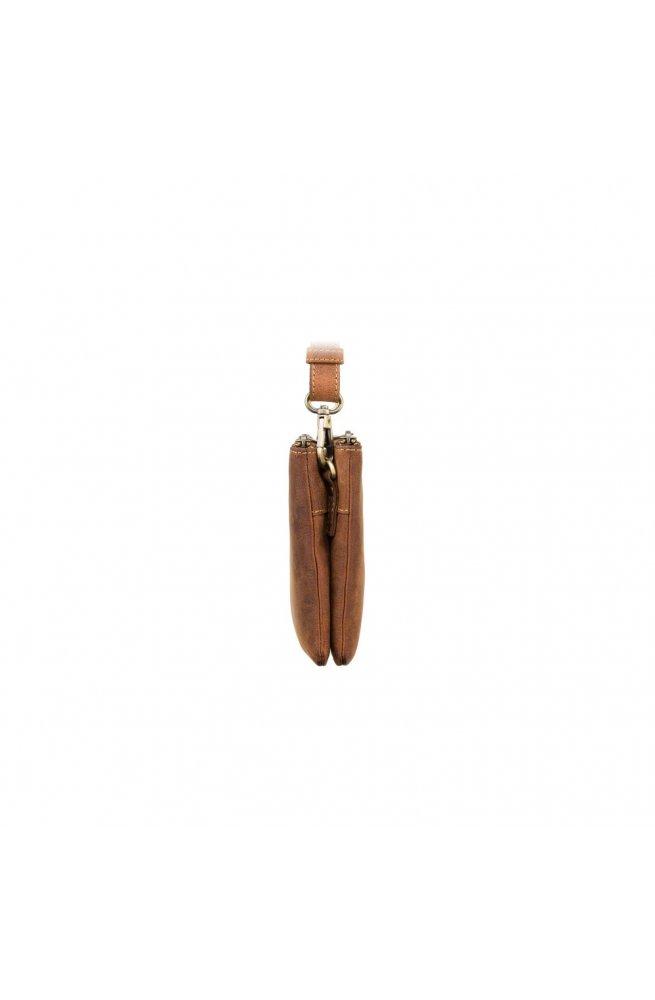 Сумка мужская Visconti S9 Eden (Oil Tan) - натуральная промасленная кожа, рыжий