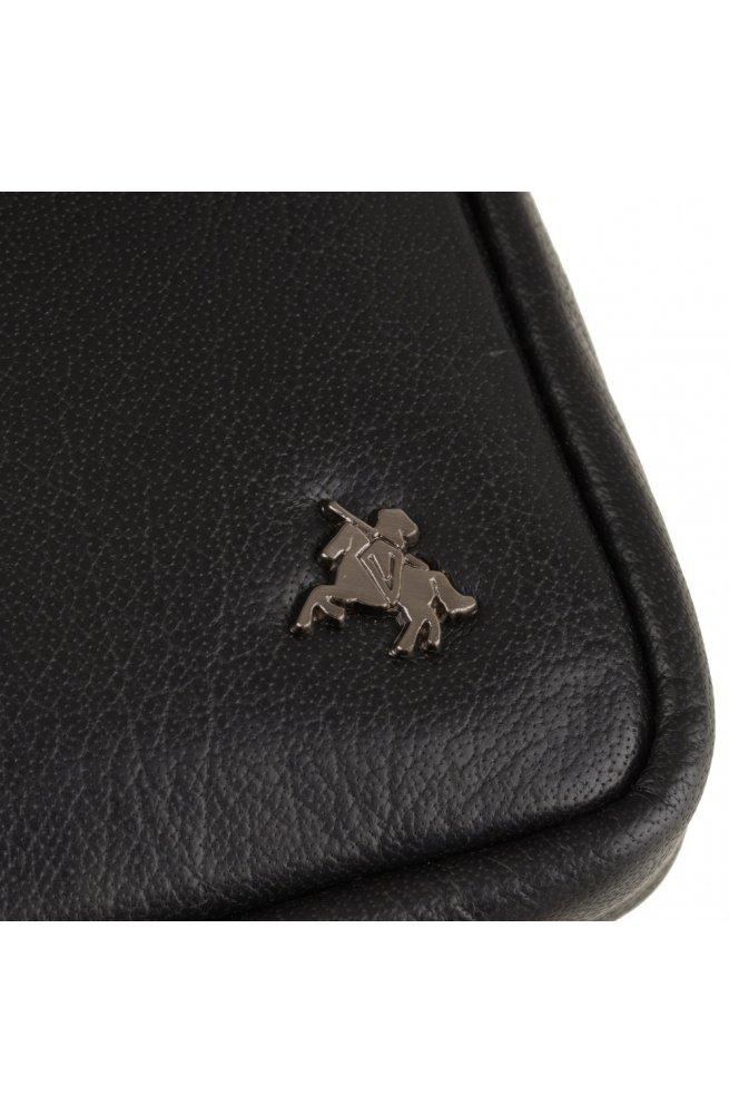 Сумка мужская Visconti S10 Remi (Black) - натуральная кожа, черный