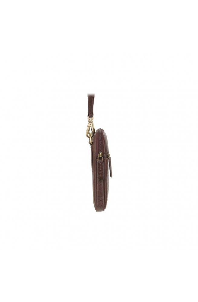 Сумка мужская Visconti S10 Remi (Brown) - натуральная кожа, коричневый