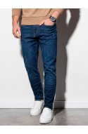 Чоловічі джинсові штани P940 - синій - Ombre