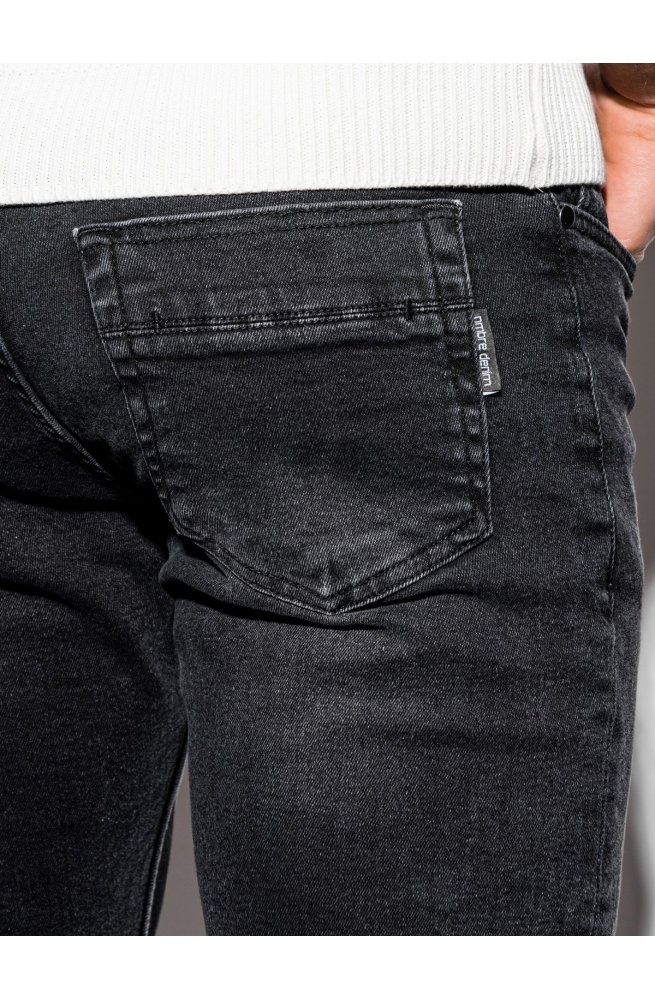 Мужские джинсовые штаны P940 - чёрный - Ombre