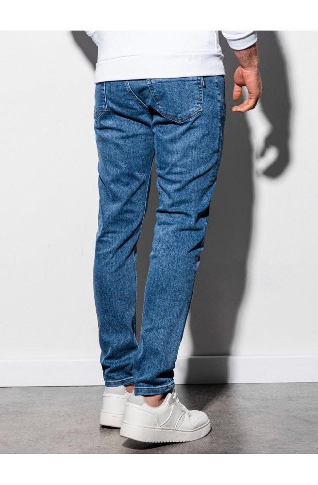 Мужские джинсовые штаны P940 - светло-синий - Ombre