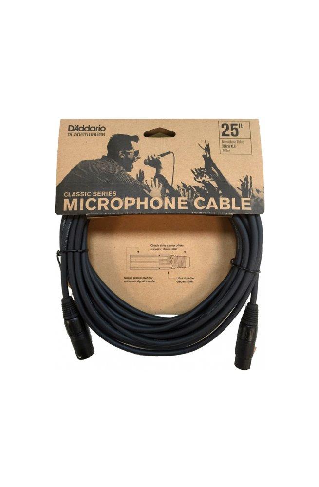 Кабель D'ADDARIO PW-CMIC-25 Classic Series Microphone Cable (7.62m)