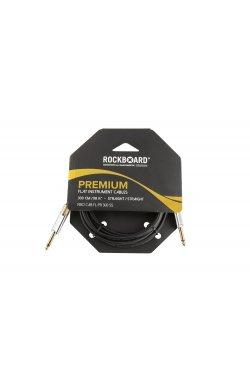 Кабель ROCKBOARD Premium Flat Instrument Cable, Straight/Straight (300 cm)