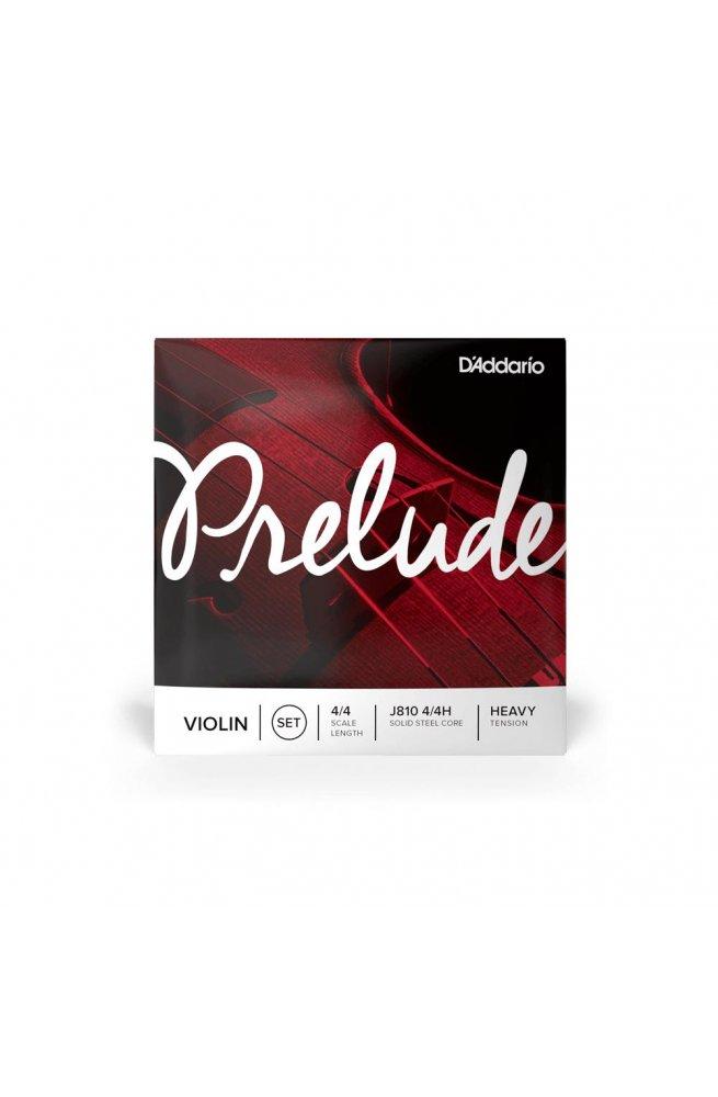 Струны для смычковых D'ADDARIO PRELUDE VIOLIN STRING SET 4/4 Scale Heavy Tension