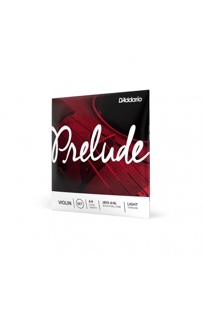 Струны для смычковых D'ADDARIO PRELUDE VIOLIN STRING SET 4/4 Scale Light Tension