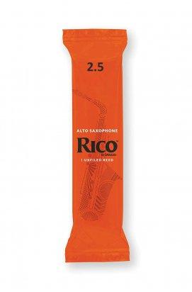 Трости для духовых D'ADDARIO Rico - Alto Sax #2.5 (1шт)
