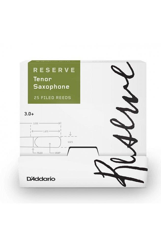 Трости для духовых D'ADDARIO Reserve - Tenor Sax #3.0+ (1шт)