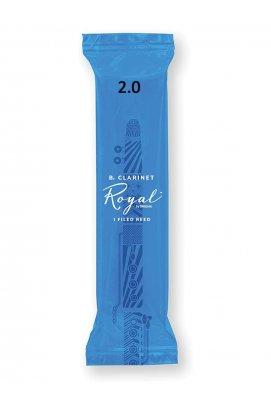 Трости для духовых D'ADDARIO Royal - Bb Clarinet #2.0 (1шт)