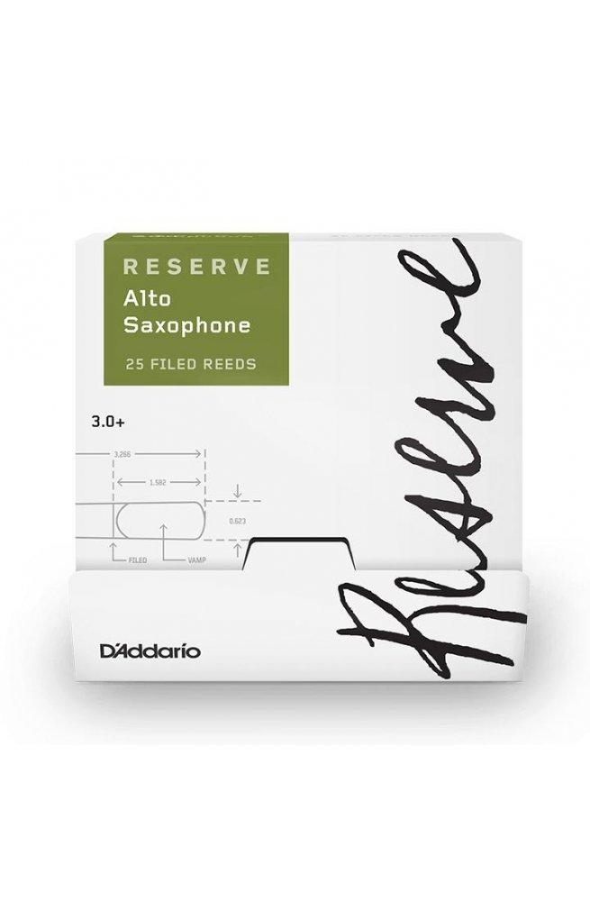 Трости для духовых D'ADDARIO Reserve - Alto Sax #3.0+ (1шт)
