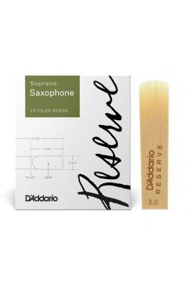 Трости для духовых D'ADDARIO Reserve - Soprano Sax #3.0 (1шт)