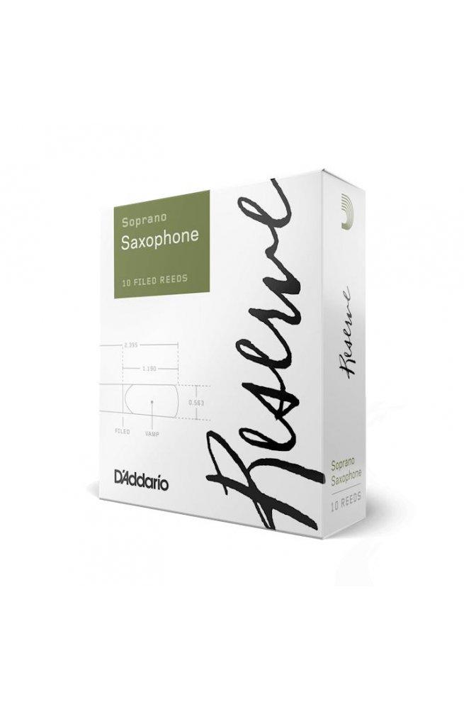 Трости для духовых D'ADDARIO Reserve - Soprano Sax #2.0 (1шт)