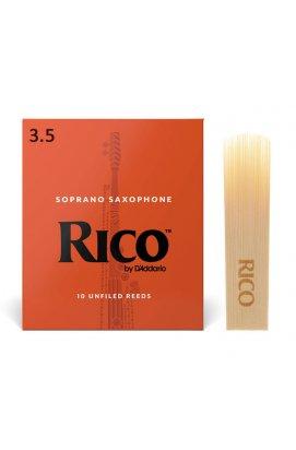 Трости для духовых D'ADDARIO Rico - Soprano Sax #3.5 (1шт)