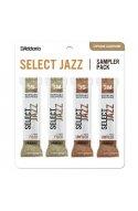 Трости для духовых D'ADDARIO Select Jazz Reed Sampler Pack - Soprano Sax 3S/3M