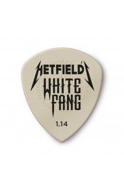 Медиаторы DUNLOP HETFIELD'S WHITE FANG CUSTOM FLOW PICK 1.14