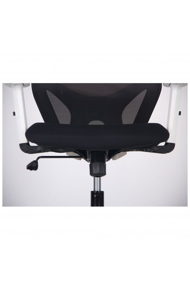 Кресло Lead White HR сиденье Нест-01 черная/спинка Сетка HY-100 черная - AMF - 297927