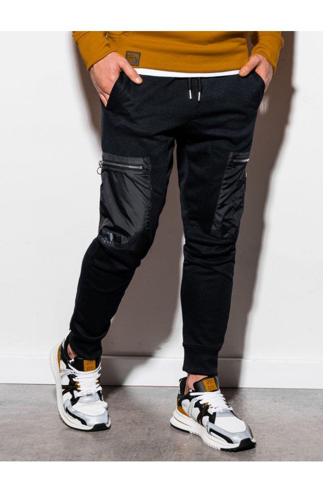 Мужские спортивные штаны P917 - чёрный - Ombre