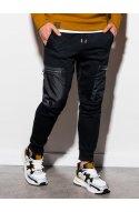 Чоловічі спортивні штани P917 - чорний - Ombre