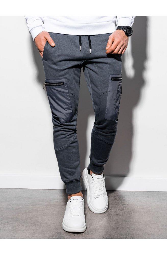 Мужские спортивные штаны P917 - графитный - Ombre