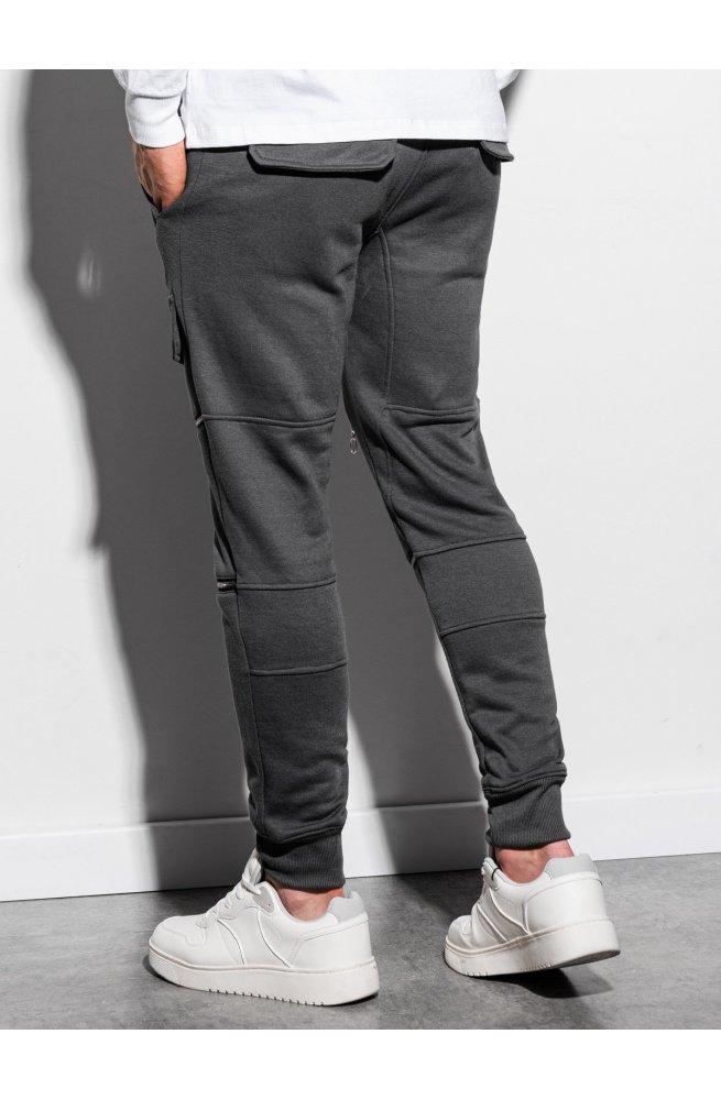 Мужские спортивные штаны P901 - графитный - Ombre