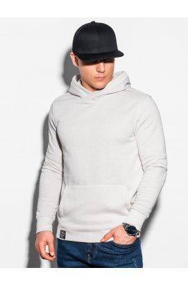 Толстовка мужская с капюшоном B1079 - серо-бежевый - Ombre