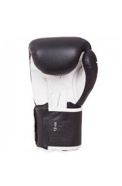 Перчатки боксерские Benlee TOUGH 10oz /Кожа /черные