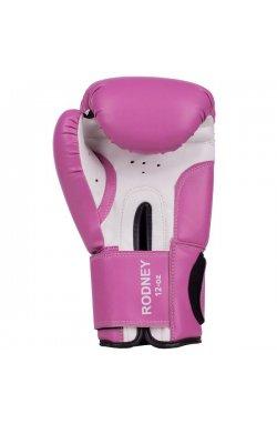 Перчатки боксерские Benlee RODNEY 12oz /PU/розово-белые