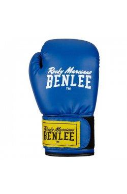 Перчатки боксерские Benlee RODNEY 14oz /PU/сине-черные