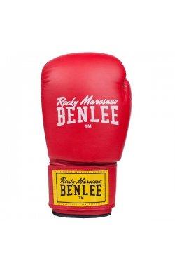 Перчатки боксерские Benlee RODNEY 14oz /PU/красно-черные