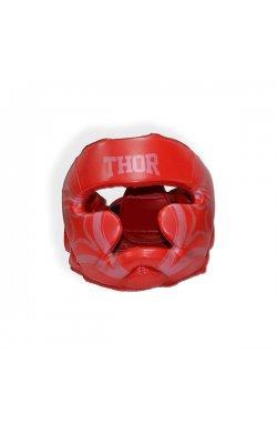 Шлем для бокса THOR COBRA 727 M /PU / красный