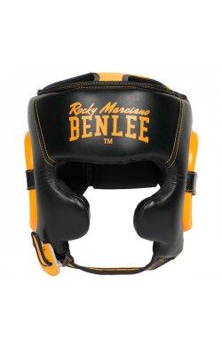 Шлем для бокса Benlee BROCKTON L/XL /черно-желтый