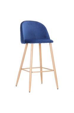 Барный стул Bellini бук/blue - AMF - 547140
