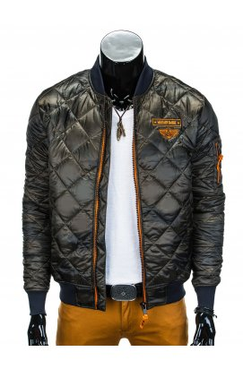 Куртка мужская демисезонная стеганая K317 - камуфляжный