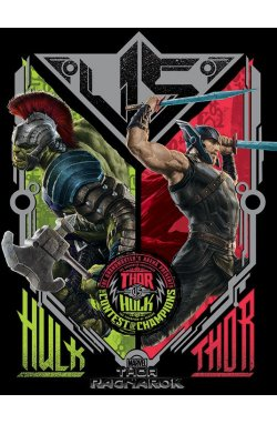 """Постер """"Thor Ragnarok (Contest Of Champions)"""" 60 х 80 см - wos774"""