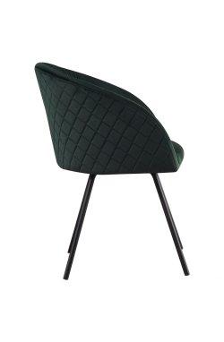 Кресло поворотное Sacramento черный/велюр темно-зеленый - AMF - 546796