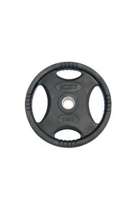 Диск обрезиненный Stein 10 кг /черный