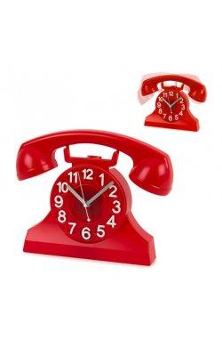 Часы настенные Balvi Ring, красные - wos358