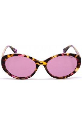 Солнцезащитные очки Polaroid PLD4087/S-HT8-0F - кошечки, Цвет линз - розовый